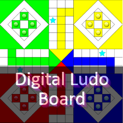 Online Digital Ludo Board