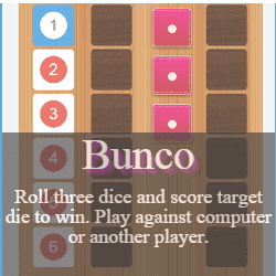 Play Bunco Dice Game Online