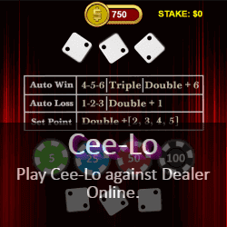 Play Cee-Lo Online