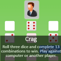 Play Crag Dice Game Online