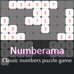 Play Numberama Puzzle Game Online