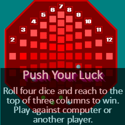 Play Push Your Luck Dice Game Online