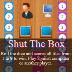 Play Shut The Box Dice Game Online