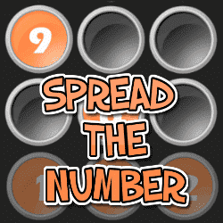 Play Spread the Number Puzzle Game Online