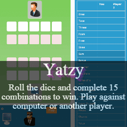 Play Yatzy Dice Game Online